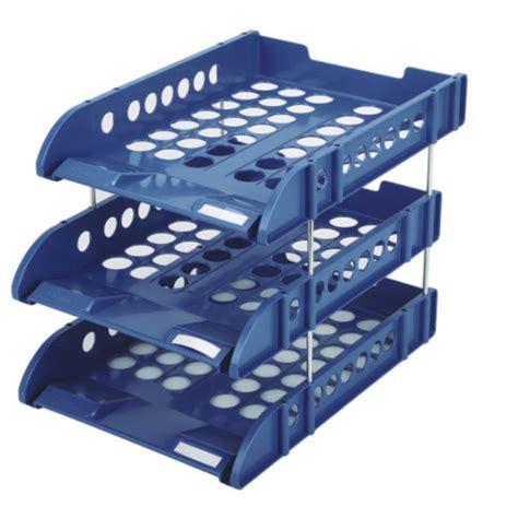 timer per lade hoge kwaliteit kantoor ps plastic bureau organizer 3 tier