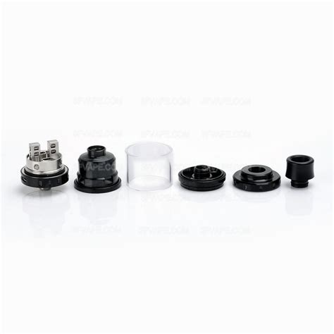 Rta Augvape Merlin Mini 24 Atomizer Authentic authentic augvape merlin mini rta black 2ml 24mm rebuildable atomizer