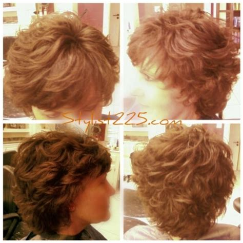 short body wave perm hairstyles body perms for fine hair over 50 short hairstyle 2013