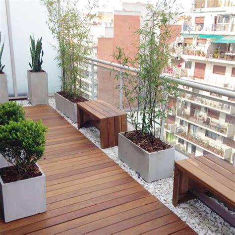 imagenes jardines y balcones m 225 s de 25 ideas fant 225 sticas sobre terrazas de madera en