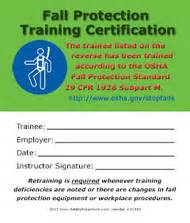 fall protection card template safety emporium