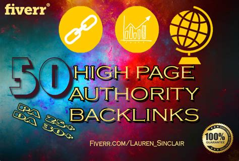 high page authority backlinks  high domain