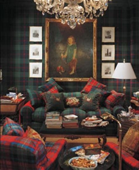 Ralph Lauren Fabrics For Home Decorating eye for design decorating with tartan plaid