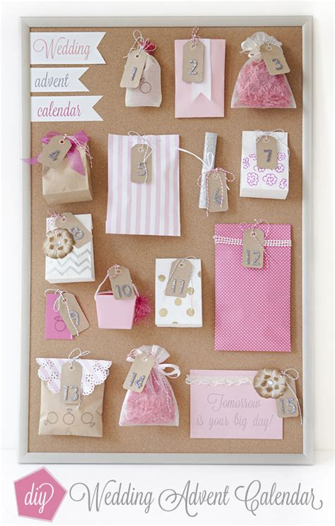 braut adventskalender how to make a wedding advent calendar adventskalender