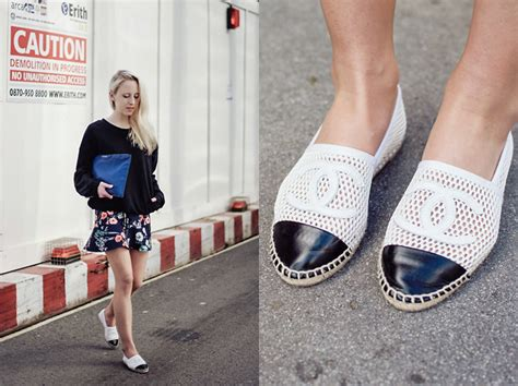 Black And White Decor Chanel Espadrilles Why Everyone Is Wearing Them Get The