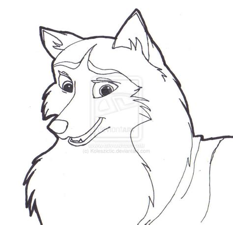 jenna from balto coloring pages coloring pages