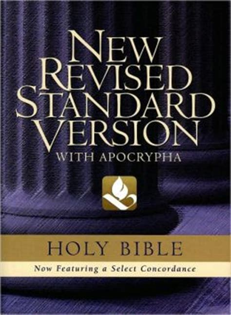 The New Revised Standard Version Bible With Apocrypha By