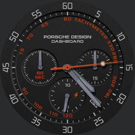 Porsche Design Dashboard by Porsche Design Dashboard 2 Watchfaces For Smart Watches