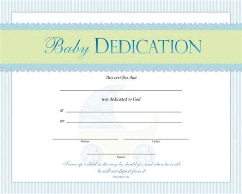 dedication certificate template baby dedication certificate template baby dedication
