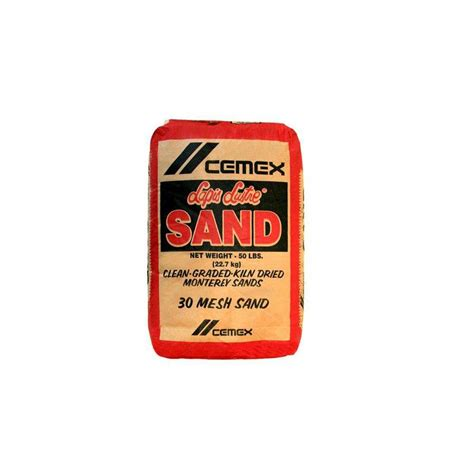 cemex 50 lb 30 mesh sand 200000278 the home depot