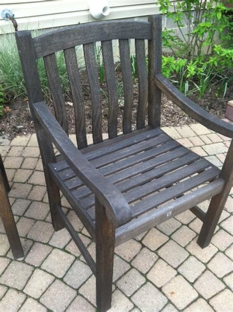 deck what is the best way to restore teak outdoor furniture home improvement stack exchange