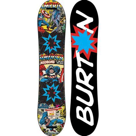 burton tavole burton chopper limited marvel snowboard