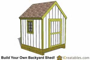 how to build a 8x8 shed from scratch