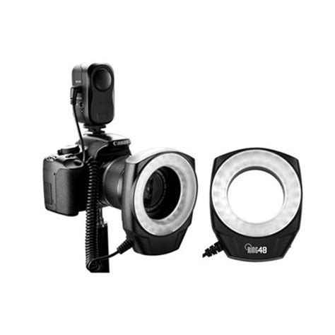 Godox Ring 48 Led Macro Ring Flash macro ring 48 led power light for canon sony nikon