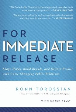 what does an immediate review of a textbook section involve for immediate release by ronn torossian book review