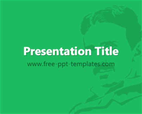 Nikola Tesla Educational Background Nikola Tesla Ppt Template Free Powerpoint Templates
