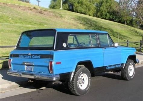 jeep cherokee chief blue does the jeep chief concept combine wrangler with classic