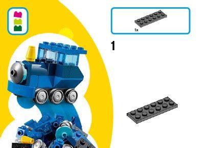 Toys Lego Classic Blue Creative Box 10706 lego blue creative box 10706 classic