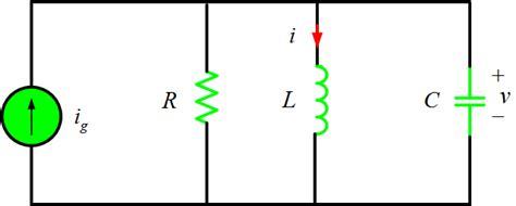 capacitor voltage in rlc circuit parallel rlc circuit analysis electrical academia