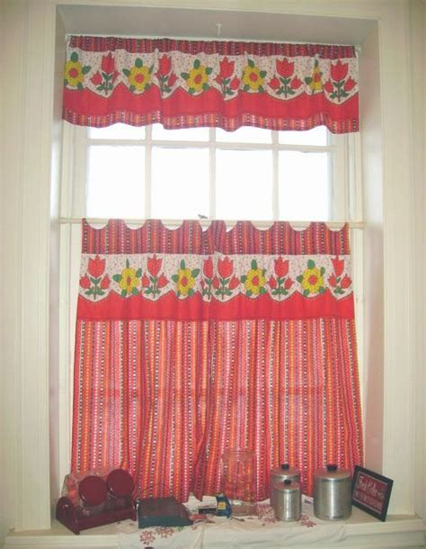 colorful curtains tips for kitchen curtains decoration ideas