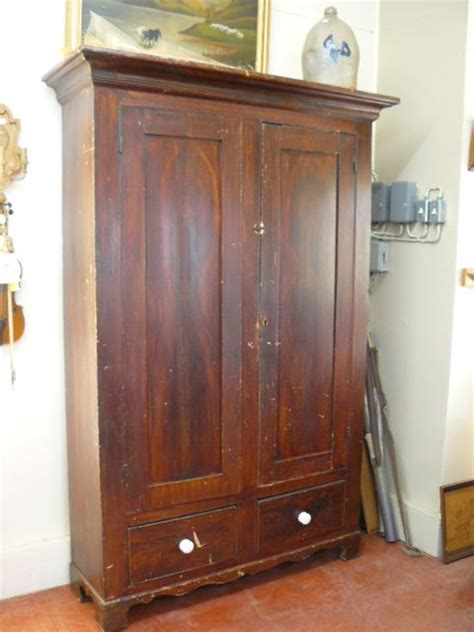 Ebay Armoires by Armoire Qu 233 Becoise Antique En Pin Couleur D Origine