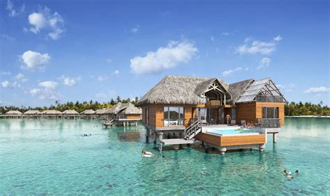 intercontinental bora bora resort thalasso spa unveils