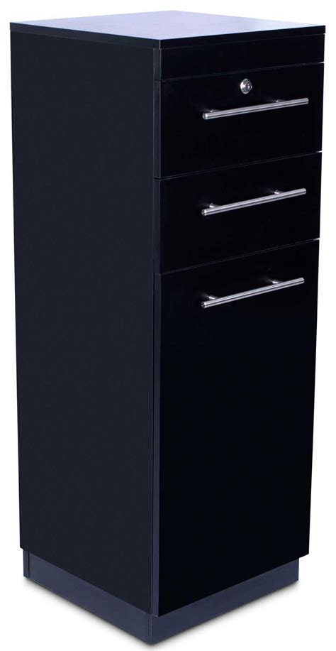 hair salon cabinets for sale quot abbot quot black beauty salon hair styling station cabinet ebay