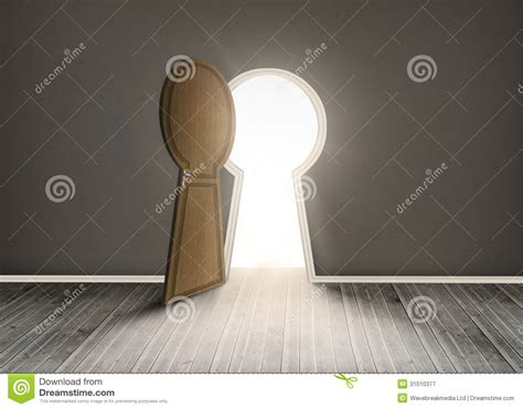 keyhole doorway keyhole shaped doorway royalty free stock photography