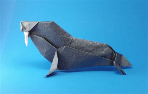 Walrus Origami - origami seals and sea lions page 1 of 2 gilad s