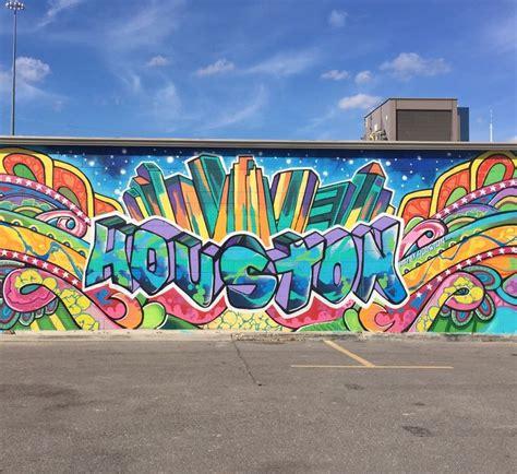 downtown houston mural wall graffiti my houston