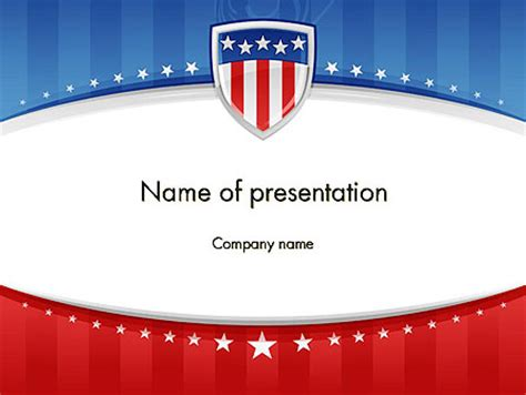 patriotic background powerpoint template backgrounds