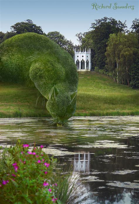 topiary cat surrealist topiary cats by richard saunders adventures
