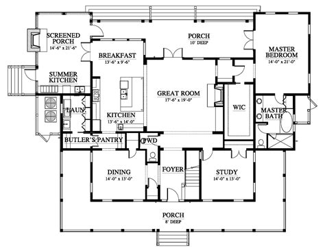 river house floor plans allison ramsey architects palmetto bluff river house