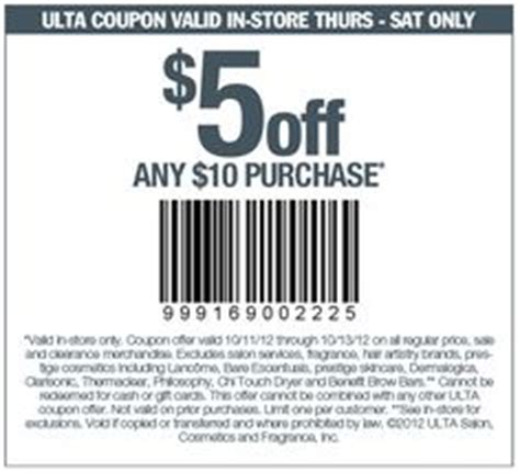 haircut coupons for ulta 5 off a haircut from supercuts coupon via the coupons app