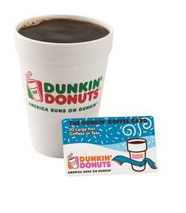 Redeem Dunkin Donuts Gift Card - last minute stocking stuffer idea dunkin coffee card and your chance to win