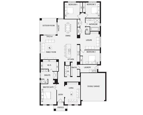 metricon floor plans lincoln 32 new home floor plans interactive house plans