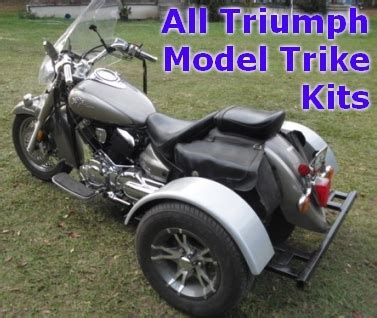 Triumph Motorcycle Trike Kit Fits All Models