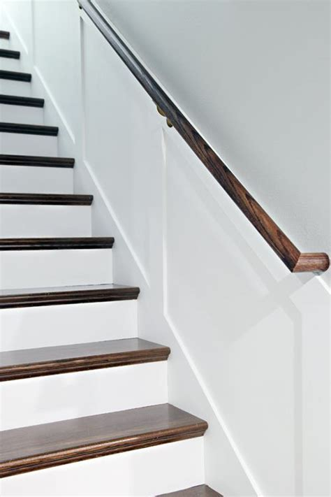 How To Install Stair Banister 25 Best Ideas About Stair Handrail On Pinterest