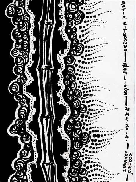 desain batik hitam batik situbondo design desain batik situbondo mungkin