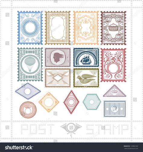 svg pattern object post st pattern object stock vector 123892183
