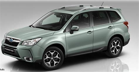 forest green subaru forester subaru forester iv 2015 colors couleurs