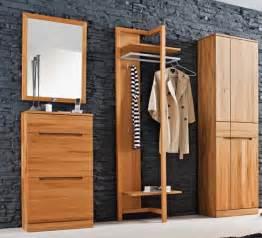kernbuche garderobe garderobenset dieleneinrichtung garderobe kernbuche massiv