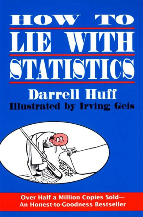 lies statistics how to lie with statistics bite size stats series books book report how to lie with statistics leadership