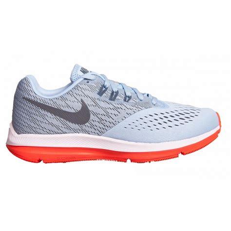 Nike Zoom Winflo 4 nike air zoom winflo 4 womens running shoe blue