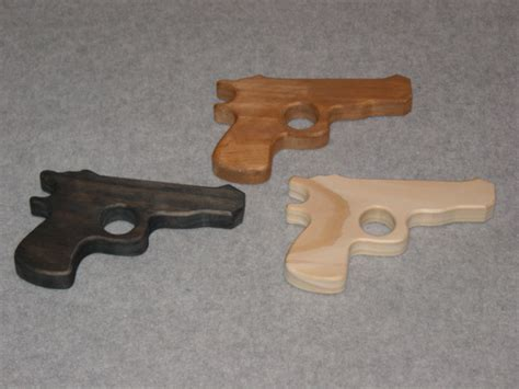 Handmade Pistol - handmade wooden pistol