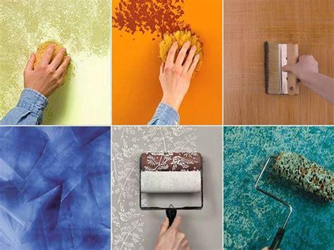 decorazione muri interni fai da te pittura pareti bricolage