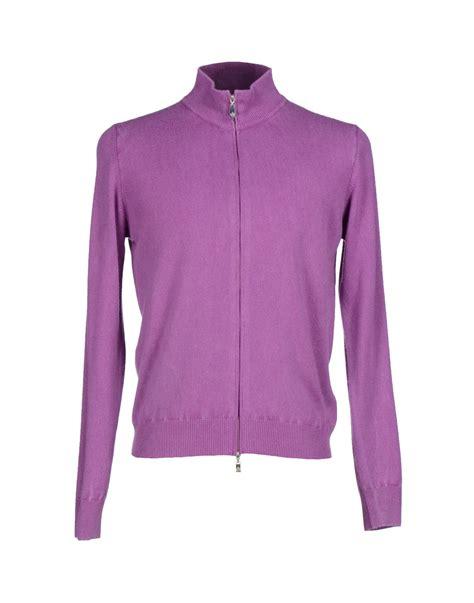 Cardigan Rajut Light Purple della ciana cardigan in pink light purple lyst