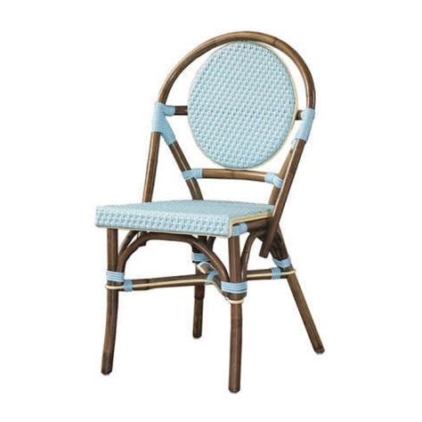 Blue Bistro Chairs Bistro Chair Blue Set Of 2 Pacifichomefurniture