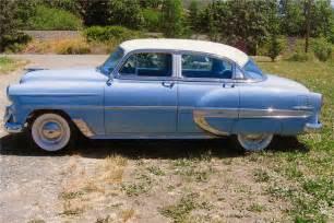 1953 chevrolet bel air 4 door sedan 93258