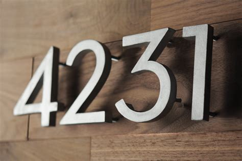where to buy house numbers make your own mid century style house numbers decor hacks